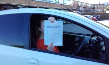 Sue is a wonderful instructor. She was supportive and encouraging throughout my whole driving experience. Sue is also patient, calm and explains things clearly and will keep going over things until you are a 100% confident. Would recommend Sue to anyone looking to pass their test!! I wouldn´t